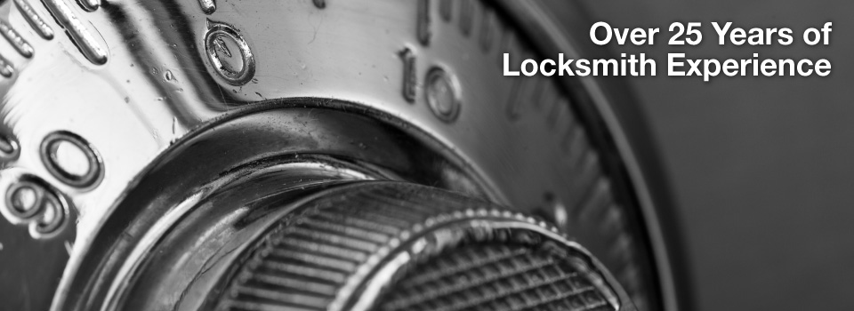 Over 25 Years of Locksmith Experience